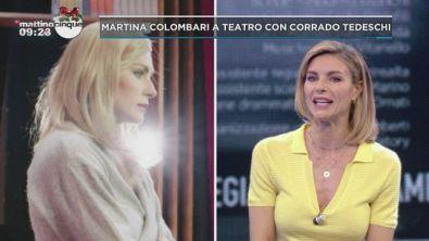 Martina Colombari a teatro