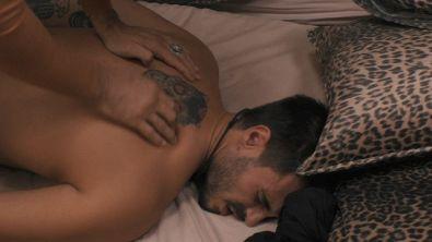 Un massaggio per Francesco Monte
