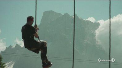Corsa per duri sulle Dolomiti
