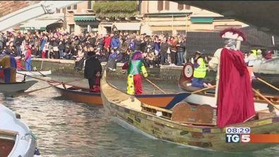La prima domenica del Carnevale di Venezia