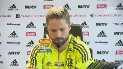 Flamengo, Diego in lacrime
