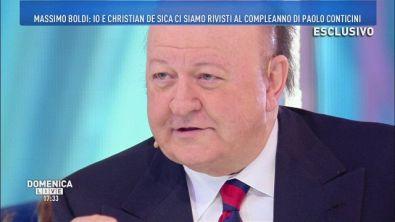 Boldi e De Sica: nessun litigio