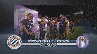 Montpellier - Tolosa 2-1