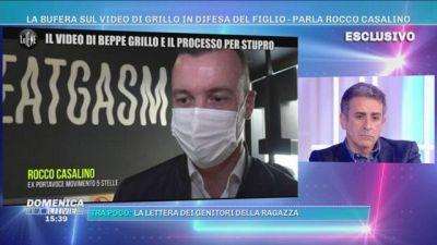 Ciro Grillo accusato di stupro, Le Iene incontrano Rocco Casalino