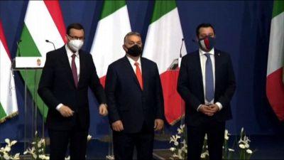"""Salvini vede Orban e Morawiecki: """"Più Europa su difesa confini"""""""