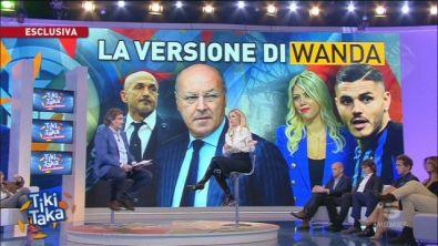 """Wanda: """"Mauro tiene alla fascia"""""""