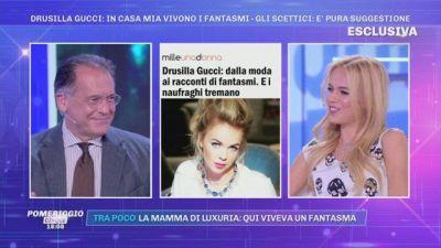 Drusilla Gucci: in casa mia vivono i fantasmi