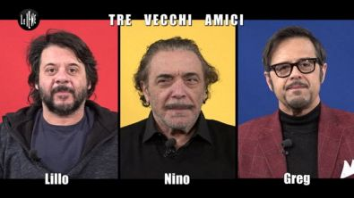 INTERVISTA: Lillo, Greg e Nino Frassica