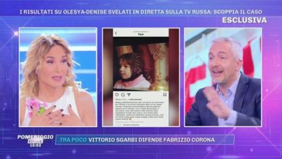 I risultati su Olesya-Denise svelati in diretta tv: scoppia il caso