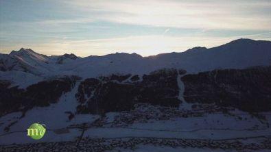 Sciare all'alba e in notturna