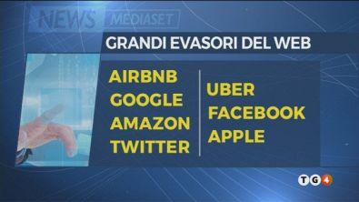 Italia paradiso fiscale per i giganti del web