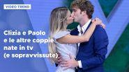 Clizia e Paolo e le altre coppie nate in tv (e sopravvissute)