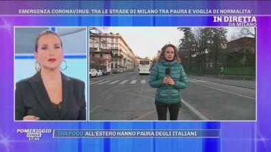Emergenza Coronavirus: in diretta da Milano