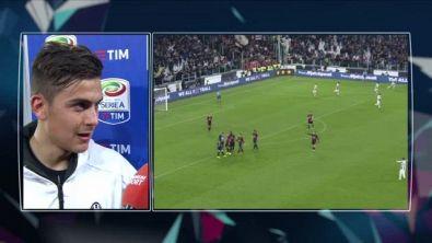 Dybala attacca il Milan