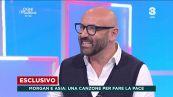"""OGNI MATTINA (TV8) – Santo Pirrotta: """"Pace tra Asia Argento e Morgan, presto una canzone insieme"""""""