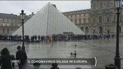 Il coronavirus dilaga in Europa