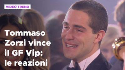 Tommaso Zorzi vince il Grande Fratello Vip: le reazioni
