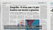 Virus, è scontro tra gli esperti