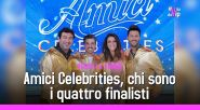 Amici Celebrities, chi sono i quattro finalisti del talent