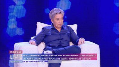Pamela Perricciolo risponde colpo su colpo