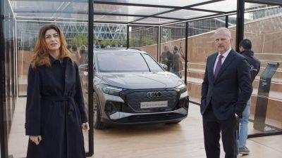 Audi toglie i veli al suo nuovo SUV elettrico Q4 e-tron