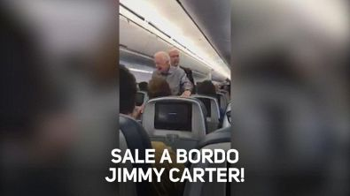 Sale a bordo Jimmy Carter!