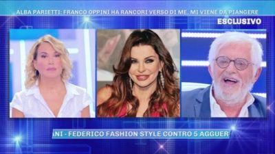Polemiche tra Franco Oppini e Alba Parietti