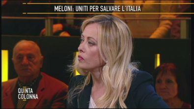 Giorgia Meloni: il problema immigrazione e la sicurezza