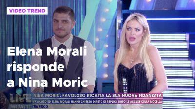 Elena Morali risponde alle accuse di Nina Moric