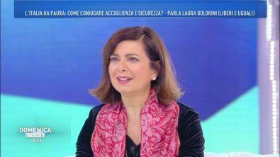 Laura Boldrini (Liberi e uguali) in vista delle prossime elezioni politiche