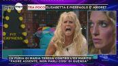 GF Vip: Maria Teresa diventa una furia