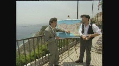 La prima apparizione di Aldo e Giovanni al TG delle Vacanze