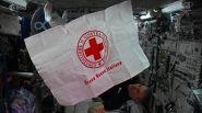 Spazio, dall'Iss il messaggio di Paolo Nespoli per la Croce Rossa