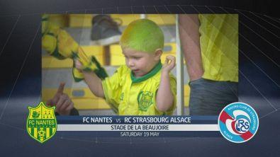 FC Nantes-RC Strasbourg Alsace 1-0