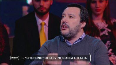 """Il """"citofono"""" di Salvini spacca l'Italia"""
