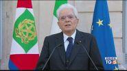"""""""L'Italia sia unita"""" L'appello di Mattarella"""