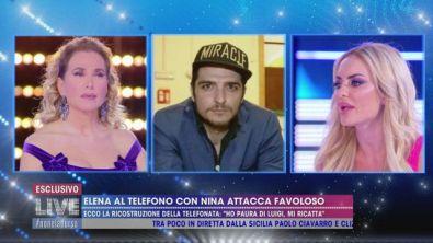 Elena Morali e gli attacchi a Favoloso nelle telefonate con Nina Moric