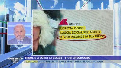 Insulti a Loretta Goggi - I fan insorgono