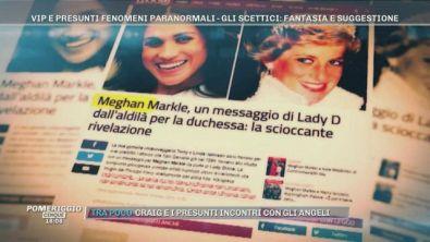 Cristiano Malgioglio e Marylin Monroe, Meghan Markle e il messaggio di Lady D, Lady Gaga e...