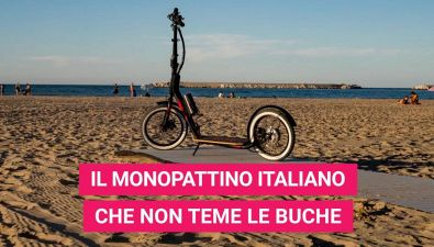 RiDE R16: il monopattino Made in Italy