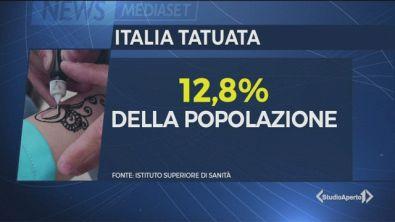 Un tattoo per 7 milioni di italiani