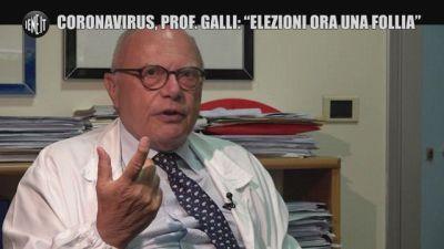 """Coronavirus, il professor Galli: """"Le elezioni in questo momento sono una follia"""""""
