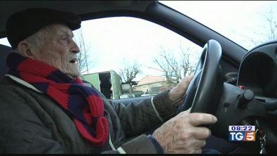 Rinnovata la patente a 102 anni