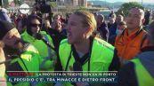 La protesta di Trieste non va in porto