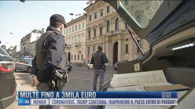 Breaking News delle 11.00 | Multe fino a 3mila euro