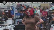 Indossano mascherina con svastica nel supermercato Usa