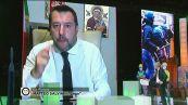 Matteo Salvini a Fuori dal Coro
