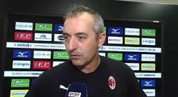 """Milan, Giampaolo: """"Piatek non è un problema"""""""