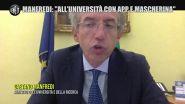 """Università, il ministro Manfredi promette: """"Rientro in sicurezza tra mascherine in aula e un'app per i corsi"""""""