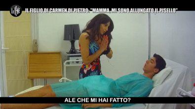 DI SARNO: Lo scherzo a Carmen Di Pietro: il figlio vuole allungarsi il pene!